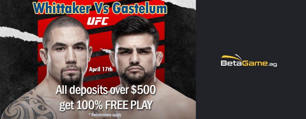 Whittaker Vs Gastelum fight night